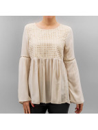Only T-Shirt manches longues onlLupina beige