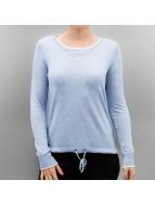 Only T-Shirt manches longues OnlPhilu O-Nec bleu