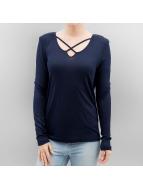 Only T-Shirt manches longues onlAlva bleu