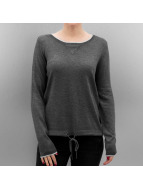 Only T-Shirt manches longues OnlPhilu O-Neck gris