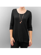 Only T-Shirt manches longues onlCasa Button noir