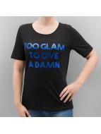 Only T-Shirt onlFoil Print schwarz
