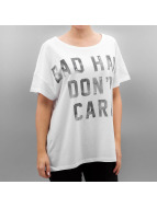 Only T-shirt onlBad Hair Dont Care vit