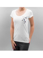 Only T-Shirt onlTessa Unicorn weiß