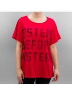 Only T-Shirts onlBad Hair Dont Care kırmızı