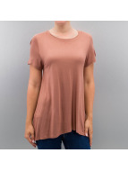Only T-Shirty onlViscose brazowy