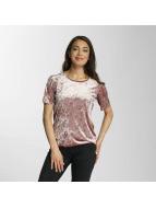 Only T-Shirty onlPunti Velour rózowy