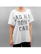 Only T-skjorter onlBad Hair Dont Care hvit