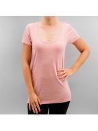 Only T-skjorter onlTruly V-Neck rosa