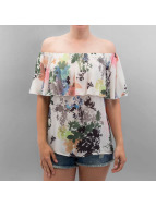 Only Top onlMojo Flower Off Shoulder beige