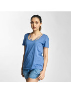 Only Top onlLeah Bone blau