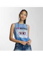 Only Top onlSofia Stuck Tape blau