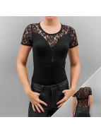 Only Top onlAnna Lace negro
