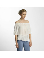 Only Top onlBingo Off Shoulder Peplum weiß