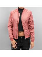 Only Übergangsjacke onlLinea Nylon Short rosa