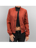 Only Veste bomber onlLinea Nylon Short rouge