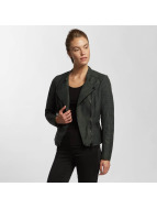 Only Veste en cuir onlAva Faux Leather noir