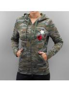 Only Vetoketjuhupparit onlCamoflage Finley camouflage