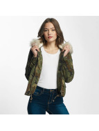 Only Winter Jacket onlSkylar camouflage