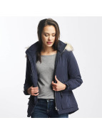Only Winterjacke onlStarlight Fur Parka blau