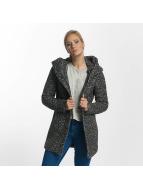 Only winterjas onlIndie Noma Wool grijs
