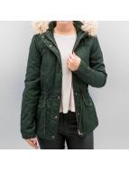 Only winterjas onlKate groen