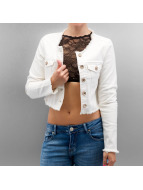 Only Zomerjas onlPia Cropped White Denim wit