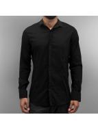 Open Рубашка Aziz черный