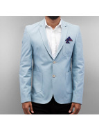 Open Blazer Basic bleu