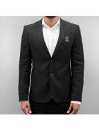 Open Blazer/Cappotti Basic nero
