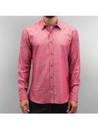 Open Flow Shirt Dark Red
