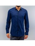 Open Hemd Ante blau