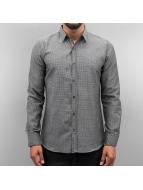 Open overhemd Dots II grijs