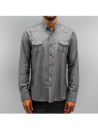 Open overhemd Breast Pocket indigo