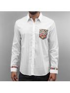 Open overhemd Dusan khaki
