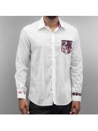 Open overhemd Dusan pink