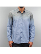 Open Shirt Nature blue