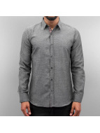 Open Shirt Dots II gray