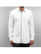 Open Shirt Paisley white