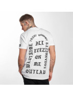 Outlaw T-Shirt Outlaw trust nobody weiß