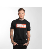 Outlaw T-Shirty Outlaw Brand czarny