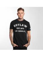 Outlaw T-Shirty Outlaw Baseball czarny