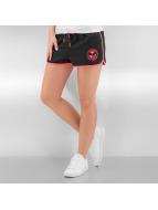 Oxbow Pantalón cortos Victoria Beach negro