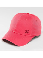 Oxbow Snapback Cap Elia Embroidered Plain pink