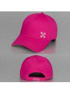 Oxbow Snapback Caps Cauva Velcro Back vaaleanpunainen