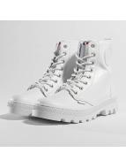 Palladium Pallabosse Off Lea Boots White