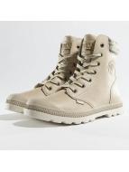 Palladium Pampa Hi Knit LP Boots Taupe/Moonbeam