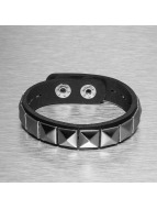 Paris Jewelry armband Rivet zwart