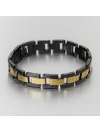 Paris Jewelry Bracelet Stainless Steel noir