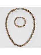 Paris Jewelry Collier Bracelet 22cm and Necklace 60cm argent
